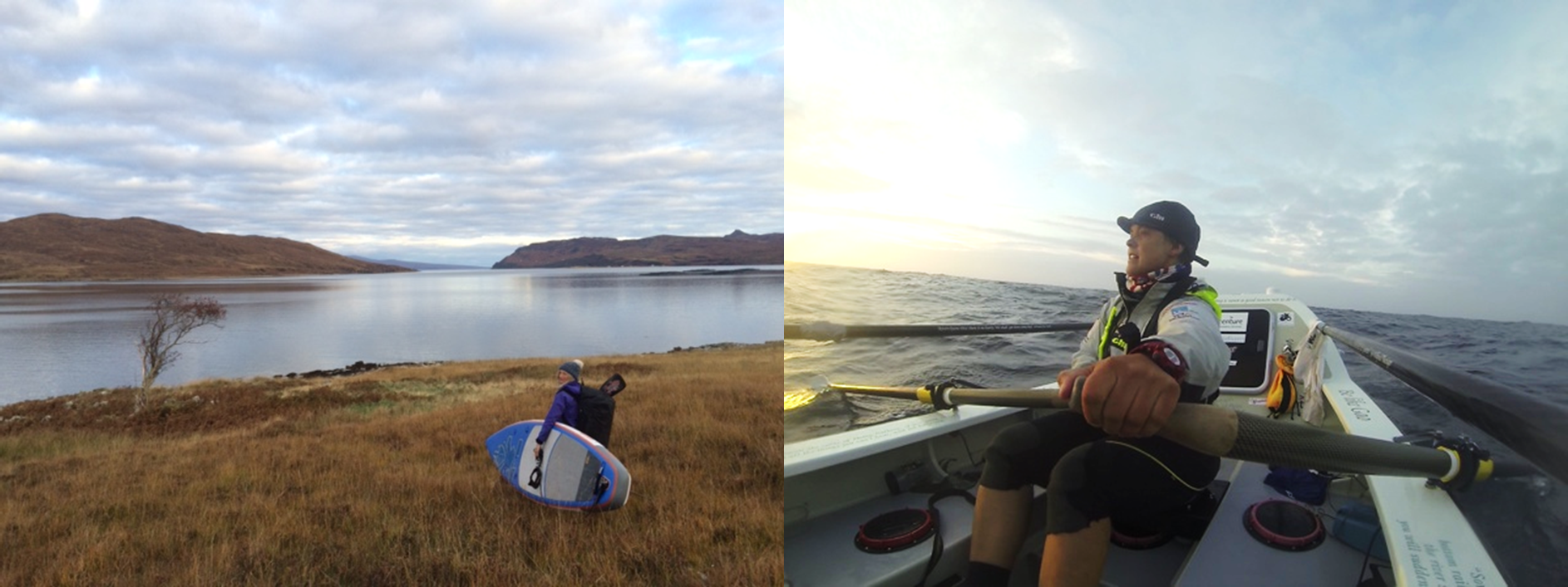 Cal Major and Sarah Outen talk planning, paddling and periods